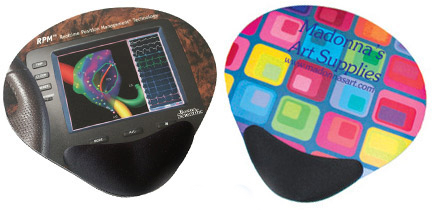 Hard Top Combo Mouse Pads